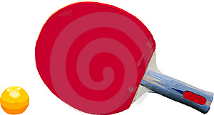 Vector Ping Pong Stock Photo - Image: 9006330