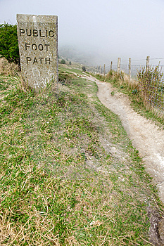 Foot Path Royalty Free Stock Image - Image: 9007236