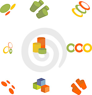 Design Elements Set Stock Images - Image: 9008324