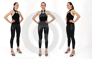 Reference Poses For Sketches Stock Image - Image: 9009771