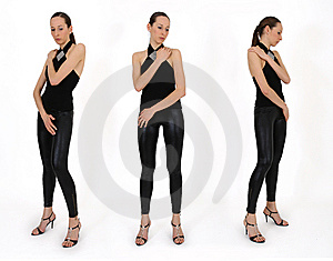 Reference Poses For Sketches Stock Images - Image: 9009824