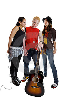Mixed Race Band Stock Photos - Image: 9009893