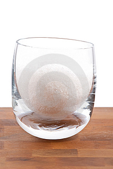 Fleur De Sel, White Sea Salt Crystals In Glass Royalty Free Stock Photography - Image: 9009957