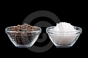 Salt An Pepper Stock Image - Image: 9010001