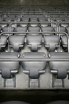 Seat Rows Royalty Free Stock Image - Image: 9010826
