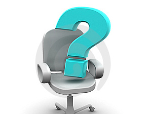Office Chair Royalty Free Stock Images - Image: 9011279