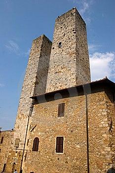 San Gimignano Royalty Free Stock Photography - Image: 9011967