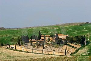 Tuscany Landscape Royalty Free Stock Image - Image: 9012046