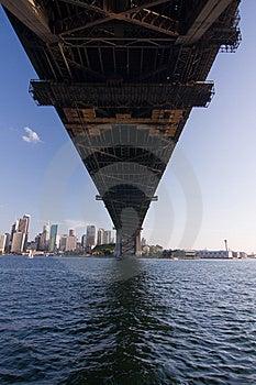 桥梁港口 图库摄影 - 图片: 9012632