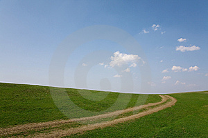 Narrow Country Road In A Rural Area Royalty Free Stock Image - Image: 9016326