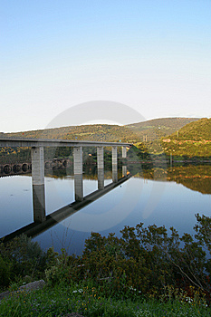 The  Bridge Royalty Free Stock Images - Image: 9016799