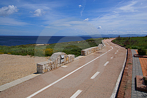 Cycle-track Stock Photos - Image: 9016863