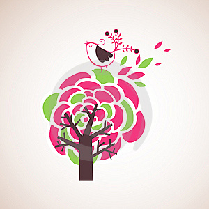Lovely Tree Design Royalty Free Stock Images - Image: 9016919