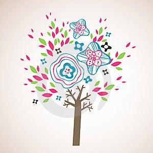 Lovely Tree Design Royalty Free Stock Photos - Image: 9016938