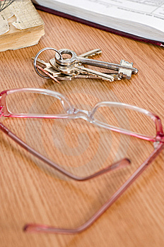 Keys And Points. Royalty Free Stock Photography - Image: 9017907