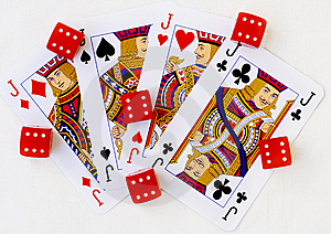 Playing Cards Royalty Free Stock Photo - Image: 9020655