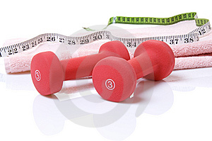 Weights Stock Photo - Image: 9020970