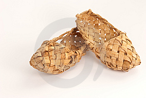 Old Russian Bast Shoes Royalty Free Stock Photos - Image: 9020978