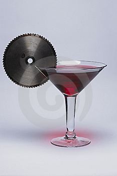 One Mean Martini Royalty Free Stock Photo - Image: 9021635