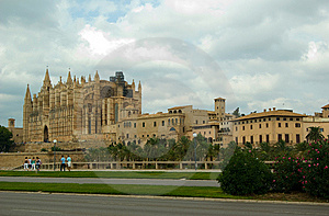 Die Kathedrale In Palma De Mallorca, Spanien Stockfoto - Bild: 9024080