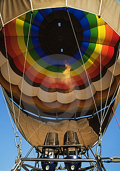 Flame Inside Balloon Royalty Free Stock Image - Image: 9025086