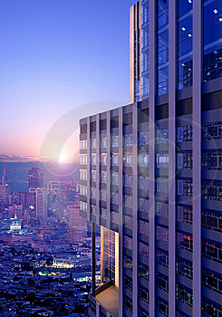 Office Building Stock Image - Image: 9026371