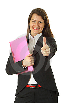 Successful Young Business Woman Stock Images - Image: 9027784