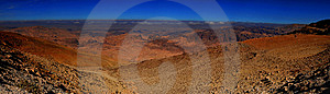 Panorama Of Jordan Stock Photo - Image: 9029140