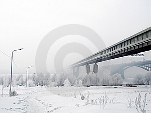 View On The Bridge Royalty Free Stock Photos - Image: 9030078