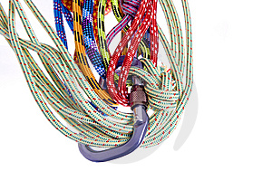 Climbing Rope Stock Photography - Image: 9032862