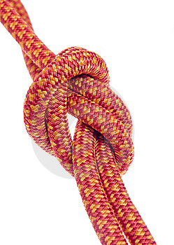 Climbing Rope Royalty Free Stock Photo - Image: 9032895