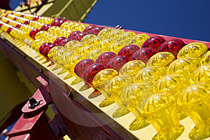 Many-coloured Light Bulbs Royalty Free Stock Photography - Image: 9033677