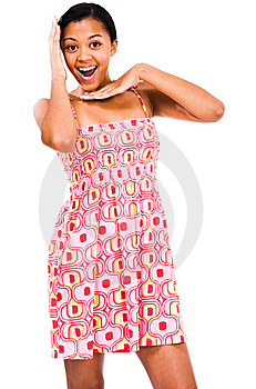 Teenage Girl Gesturing Stock Image - Image: 9033701