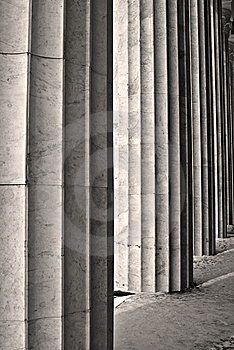 Game Of Columns Stock Photos - Image: 9034403