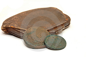 Very Old Purse Of 19 Centuries Stock Photography - Image: 9034842