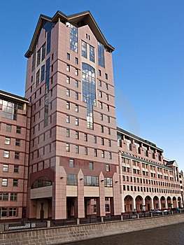 Business Building Stock Image - Image: 9036041
