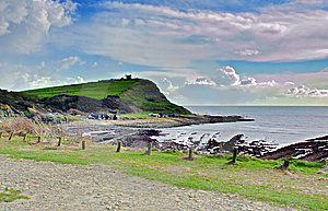 Kimmeridge Bay Stock Images - Image: 9036054