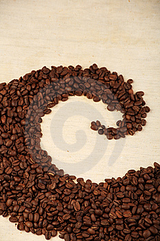 Pattern Of Coffee Royalty Free Stock Photography - Image: 9036617