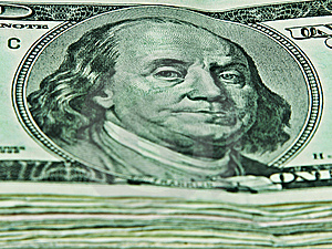 Hundred Dollar Bills Royalty Free Stock Images - Image: 9037639