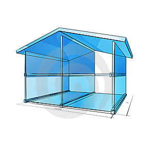 Glass House Stock Images - Image: 9038024