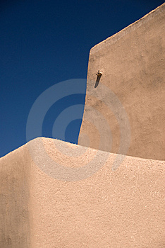 Adobe Roof And Sky Royalty Free Stock Image - Image: 9038276