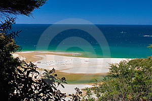 Ocean View Abel Tasman Royalty Free Stock Photo - Image: 9039175