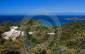 Ocean View Abel Tasman Stock Photos - Image: 9039193