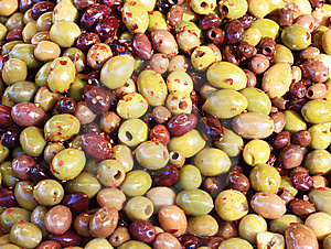 Marinaded Olive Bacckground Royalty Free Stock Photography - Image: 9040137