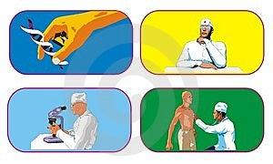 Medicine Icon Stock Image - Image: 9045771