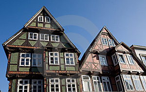 Typical German Houses Royalty Free Stock Photography - Image: 9045837