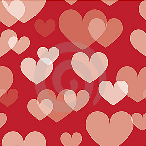 Seamless Valentine Pattern Stock Photography - Image: 9045892
