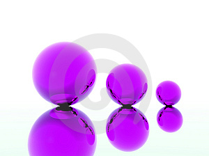 Colored 3d Balls Stock Photos - Image: 9046323