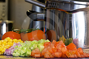 Cooking Vegetables Stock Photography - Image: 9046342
