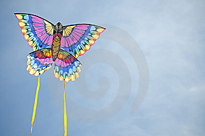 Kite Against The Sky Stock Images - Image: 9046444